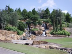 Golf course landscaping
